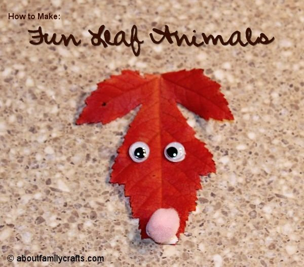 Fun Leaf Animals