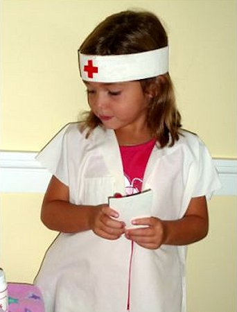 Easy Nurse Costume or Doctor Costume