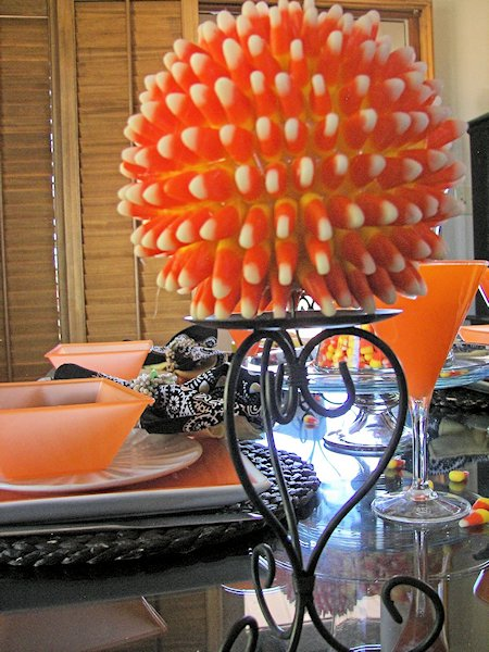 Candy Corn Spheres