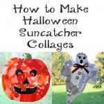 Halloween Sun Catcher Collages 250