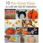 Not-so-Scary Halloween Projects for Kids 250