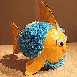 Paper Mache Fish Pinata 250