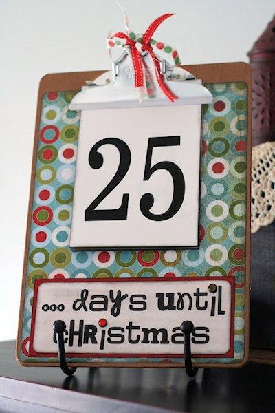 Countdown Clipboard
