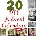 20 DIY Advent Calendars 250