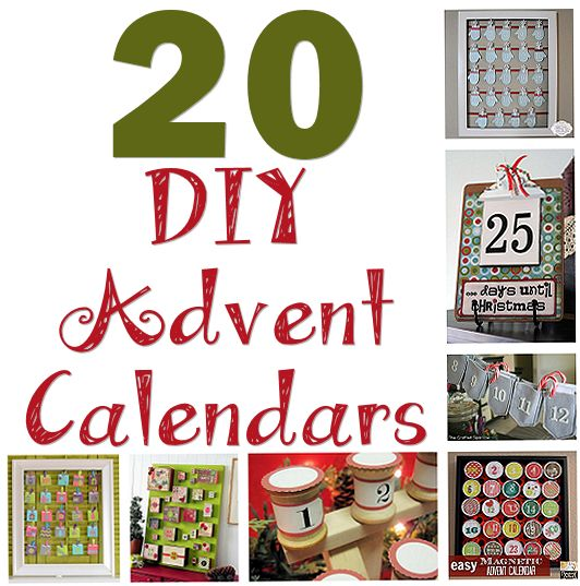 20 DIY Advent Calendars – About Family Crafts