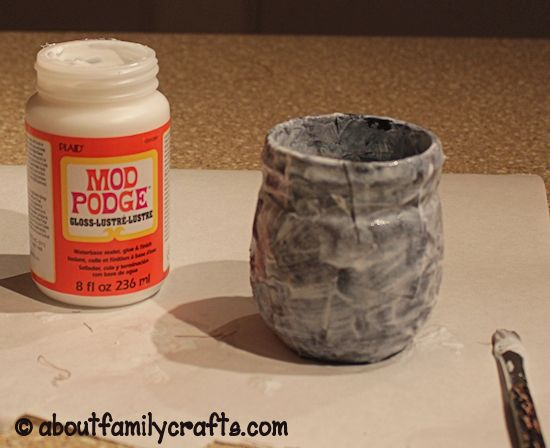 Cover the Mason Jar with Fabric
