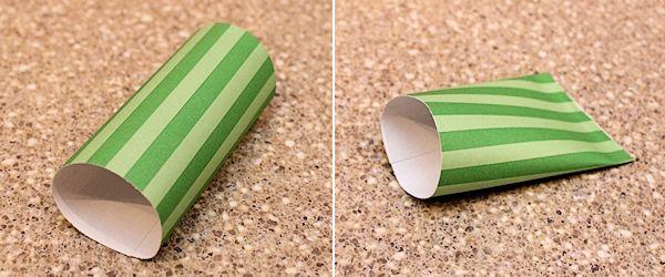 make the paper cone