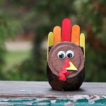 Mason Jar Turkey Craft 250