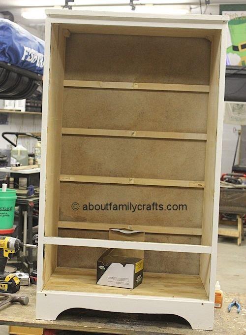 disassembled dresser