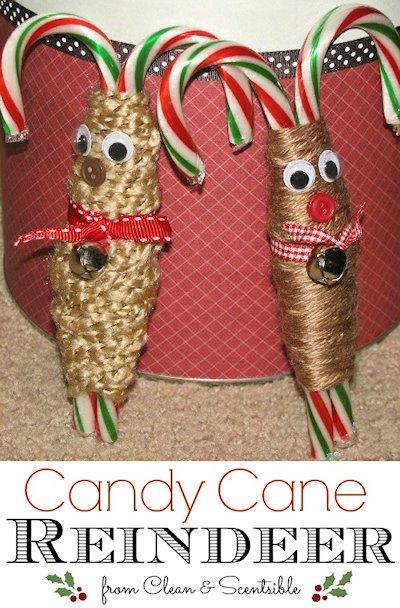 Candy Candy Yarn Reindeer