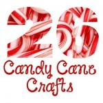 26 Candy Cane Crafts 250