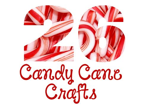 26 Candy Cane Crafts