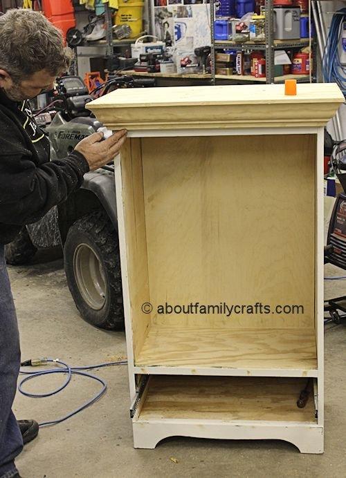 Building Up The Dresser