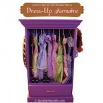 Dress-up clothes armoire 250