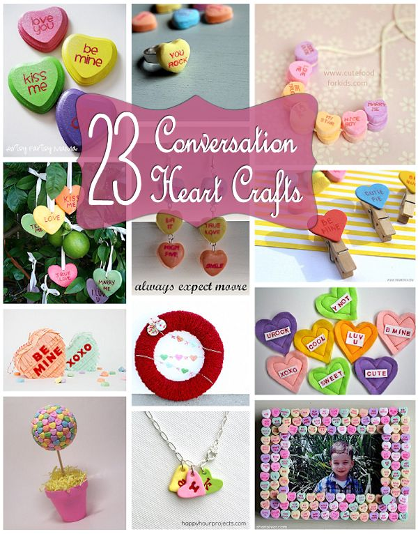 23 Conversation Heart Crafts