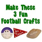 3 fun football crafts 150