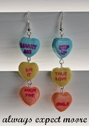 Conversation Heart Earrings
