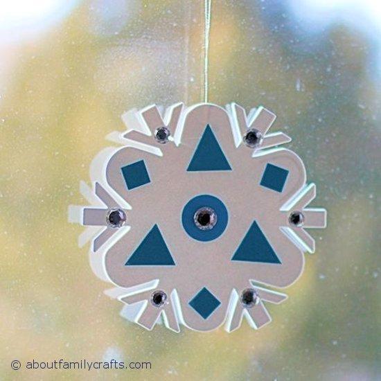How to Make a Craft Foam Snowflake