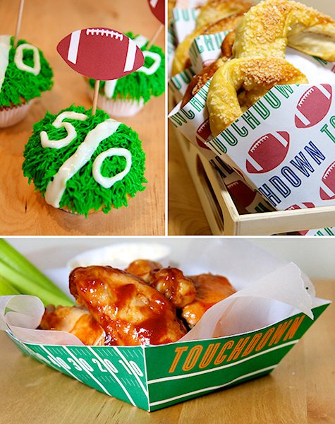 Football Party Printables from Hostess