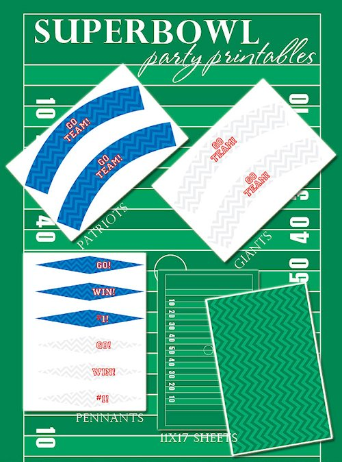 Free Super Bowl Party Printables