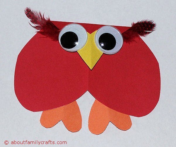 How To Make Paper Heart Animals About Family Crafts