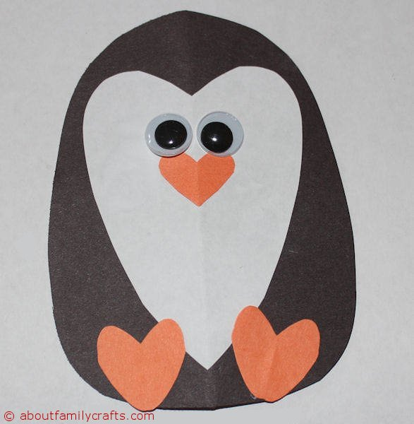 How I Made This Heart Penguin