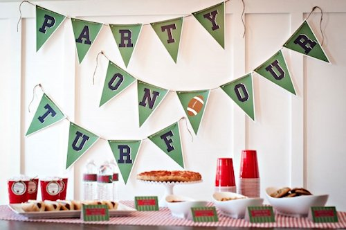 Party On Our Turf Printables