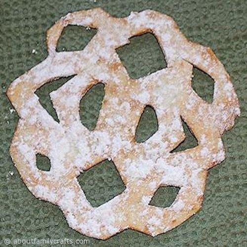 Tortilla Snowflake