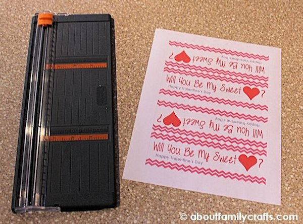 Cut aprt the Sweetheart Bag Tags
