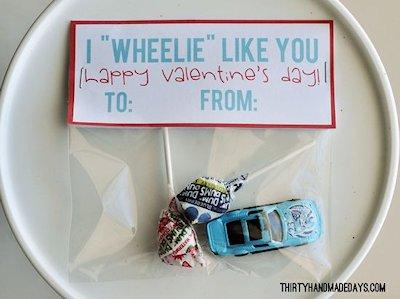 I Wheelie Like You Valentine