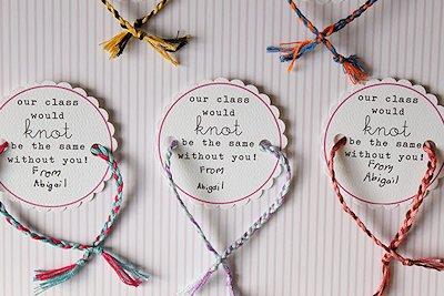 Friendship Bracelet valentine