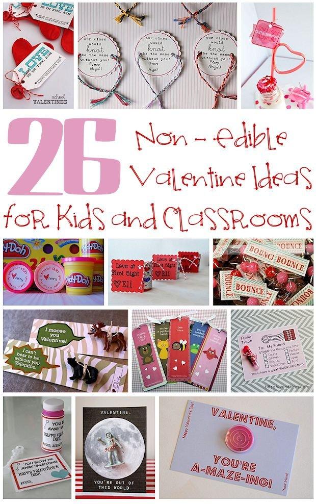 26 Non-edible valentine ideas for kids