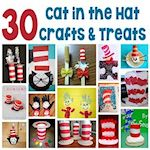 30 Cat in the Hat Crafts and Treats 150