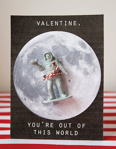 Astronaut Valentines