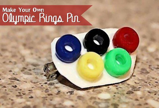 How to Make Your Own Olympic Rings Pins