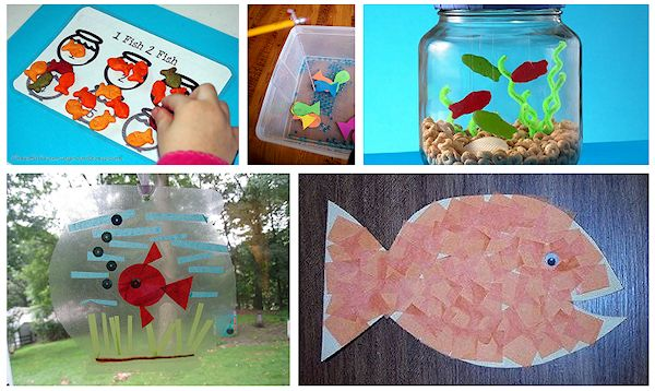 One fish Two fish crafts and activities 2