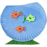 Paper Plate Fish Aquarium 150pl