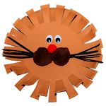 Paper Plate Lion Craft 150