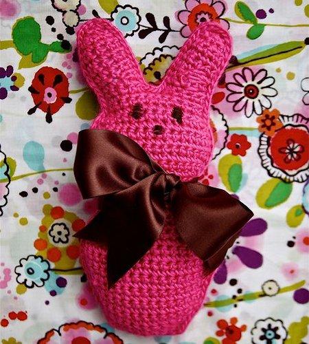 Crocheted Peep