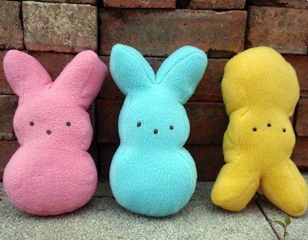 Bunny Peep Plushie