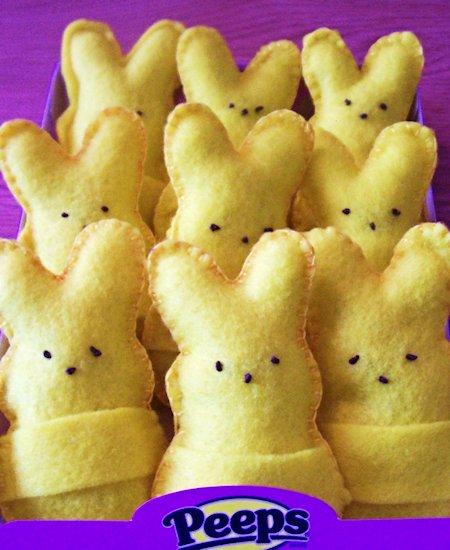 Felt Bunny Easter Gift