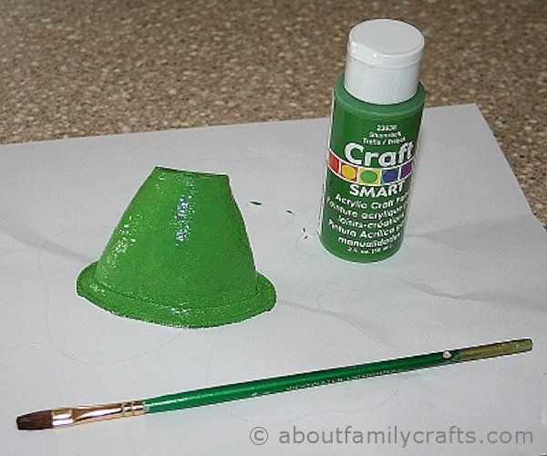 paint the leprechaun hat