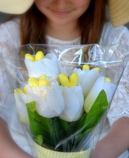 Peeps Bunny Bouquet