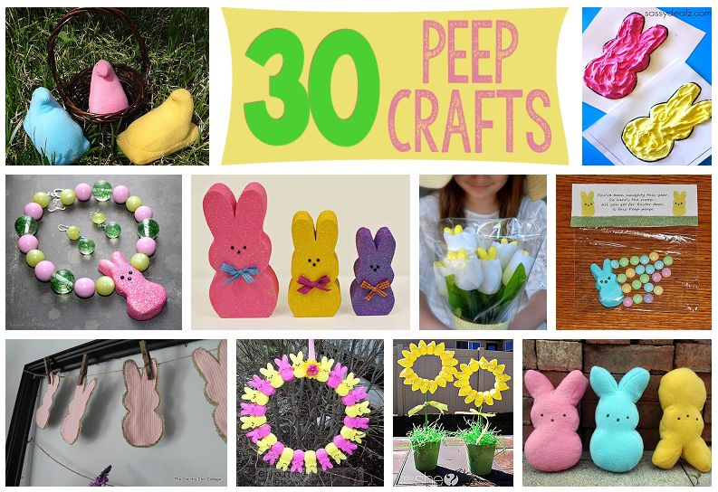 30 Easter Peep Crafts