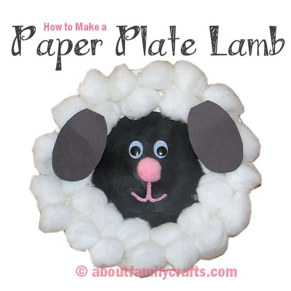 How to Make a Paper Plate Lamb  sc 1 st  About Family Crafts & How to Make a Paper Plate Lamb u2013 About Family Crafts
