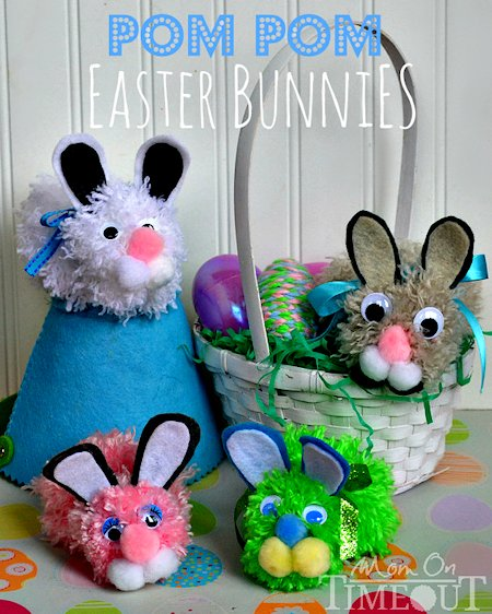 Pom-Pom Easter Bunny