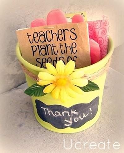 Garden Style Teacher Appreciation Gift