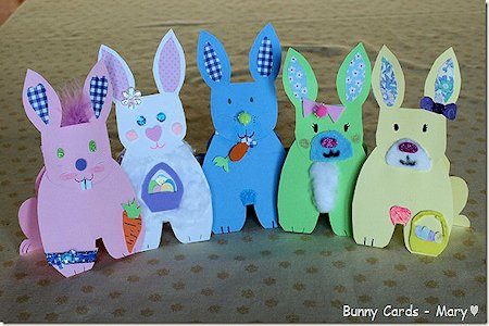 Bunny Card Craft