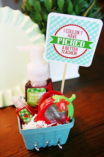 Berry Basket Gift Idea