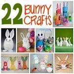 22 bunny crafts 150